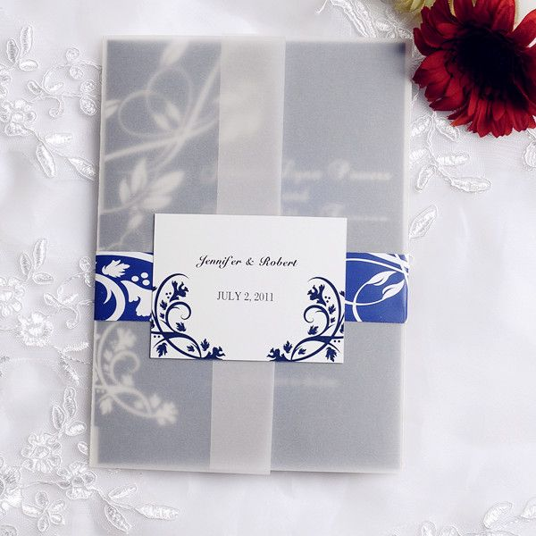 Top 20 hotsale navy blue wedding invitations at ewi blue beach royal blue beach wedding blue wedding invitations cheap at elegant wedding invites part filmwisefo Gallery