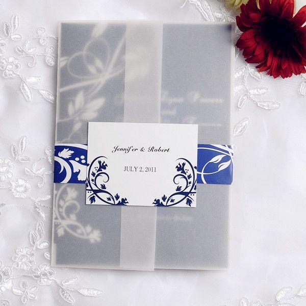 Top 20 Hotsale Navy Blue Wedding Invitations At EWI