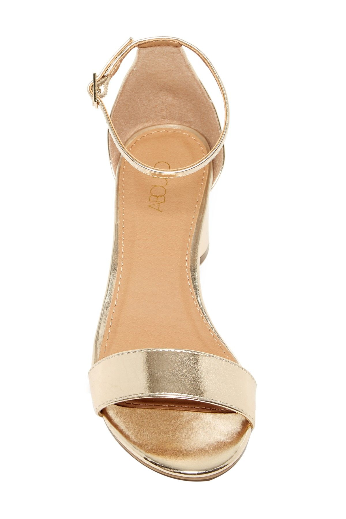 36c3e4dc595 Emina Rounded Block Heel Sandal - Wide Width Available