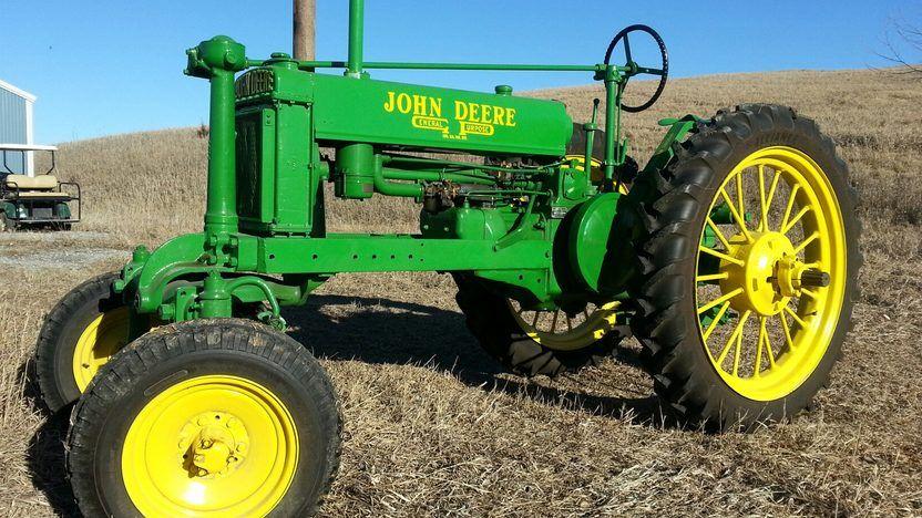 1938 John Deere BWH-40 - 1 | Planes, Trains & Automobiles | Tractors