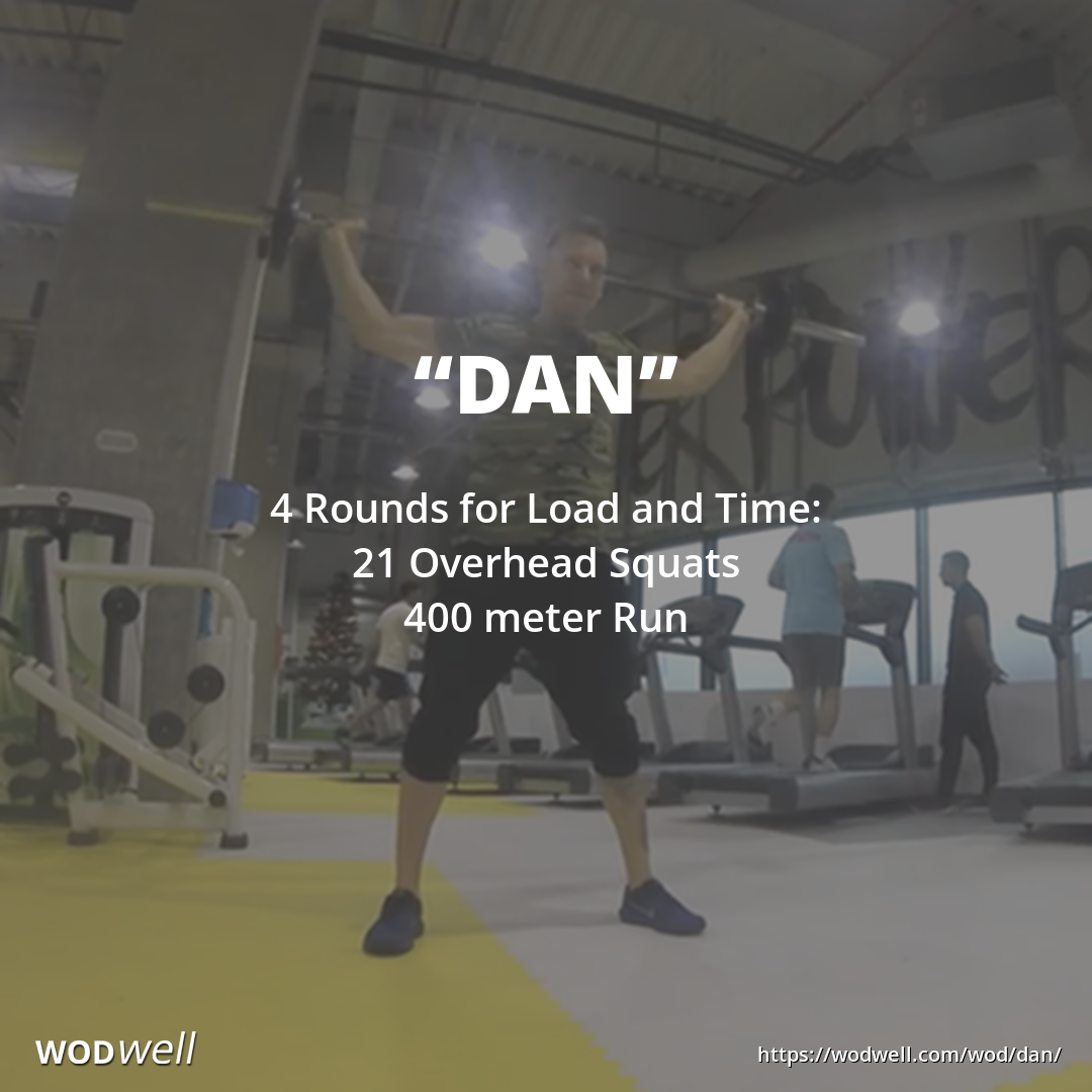 Dan Workout Functional Fitness Wod Wodwell Crossfit Workouts Wod Wod Workout Barbell Workout