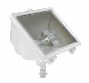 Hubbell Outdoor Lighting Hubbell Outdoor Lighting Q500W Qseries Quartz Floodlight White
