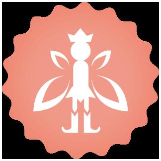 Build a fairy house & imagination play icon