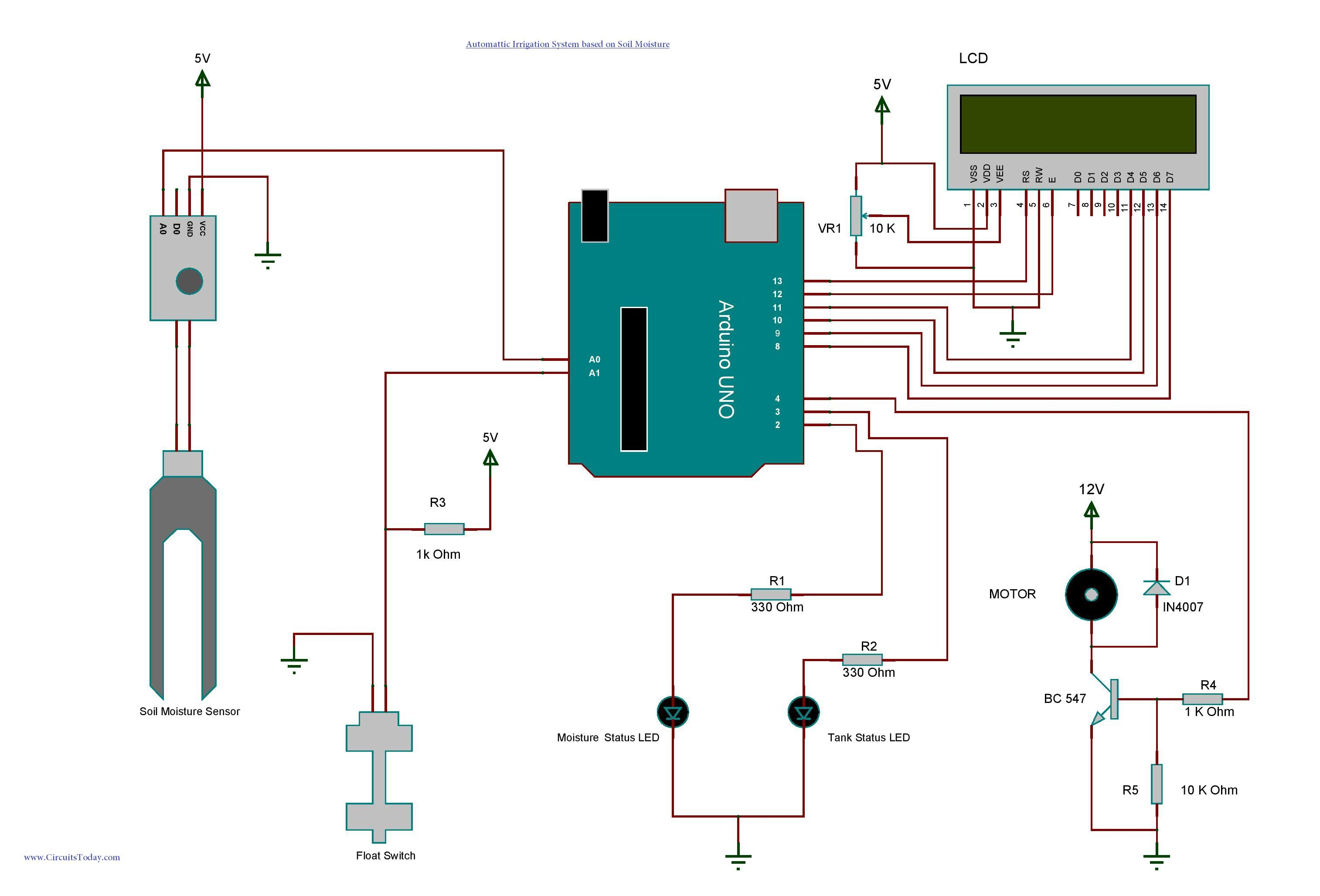 hight resolution of arduino based irrigation and automatic plant watering system using soil moisture sensor build automatic watering system for garden farm fields and lawns