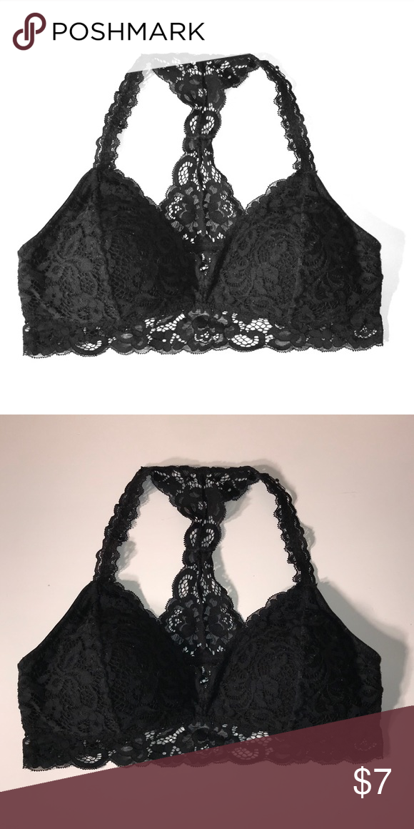 7f736559c4790 Black Lace Bralette Cute bralette with some padding * FREE W ANOTHER  PURCHASE Xhilaration Intimates