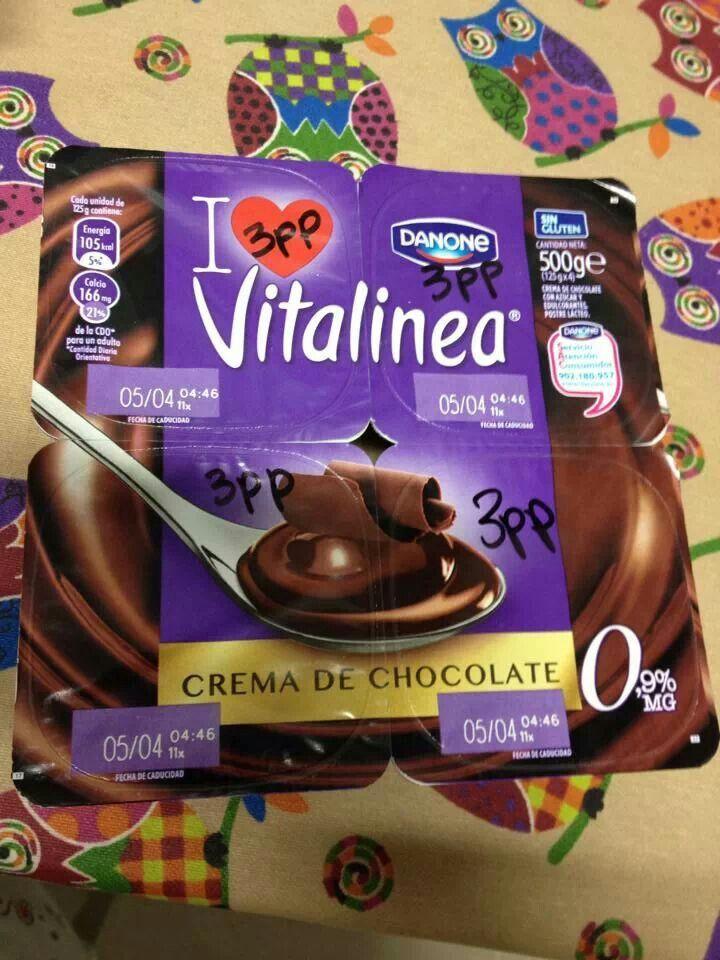 Crema Ch8volate Vitalinea Dieta Puntos Propoints Dietas