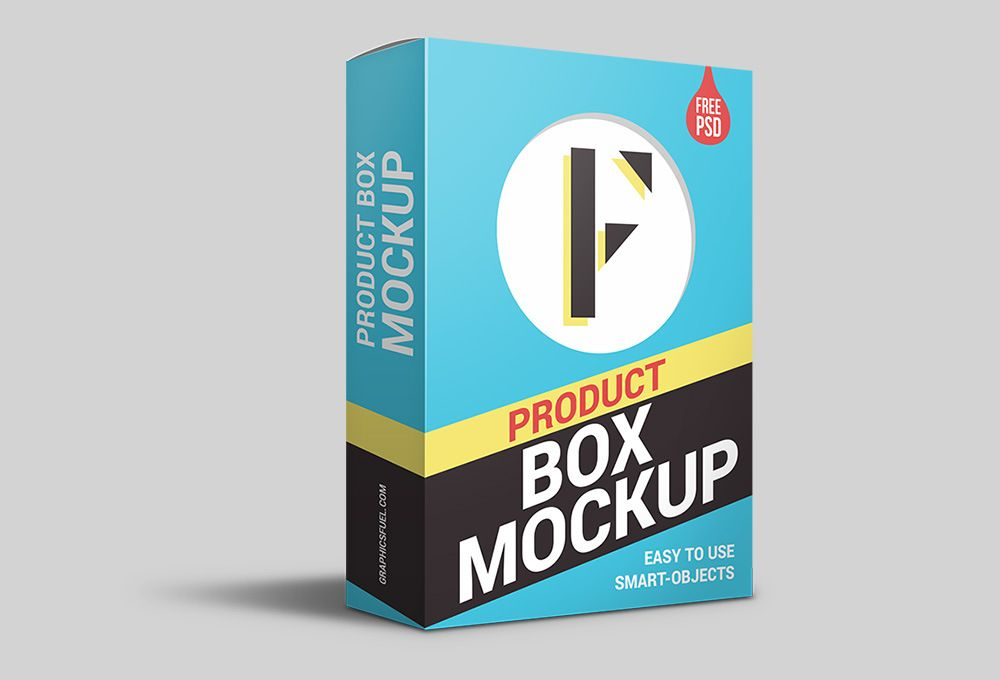 Download Product Packaging Box Mockup Fribly Box Mockup Packaging Mockup Mockup Psd
