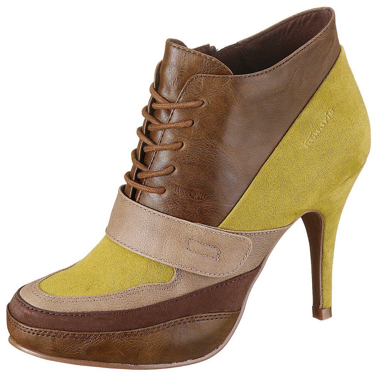Tamaris Stiefeletten | Tamaris schuhe, Schuhe und Stiefeletten