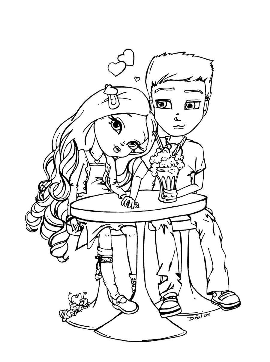 High school sweethearts by JadeDragonne.deviantart.com on ...