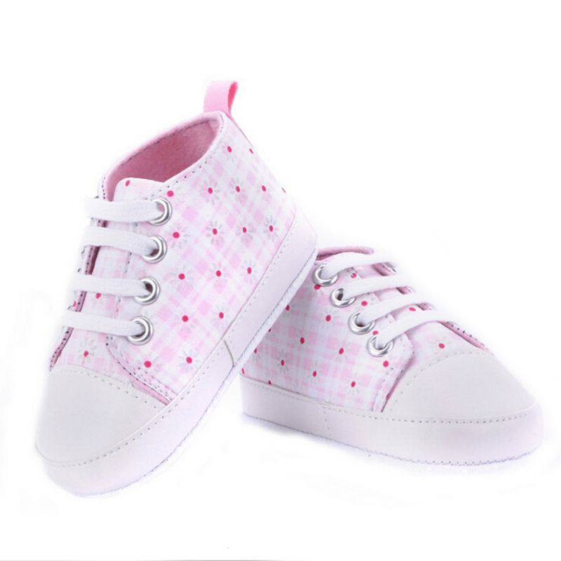 0-18M Sneakers Newborn Baby Crib Sport Casual Shoes Boys Girls Infant Soft Sole
