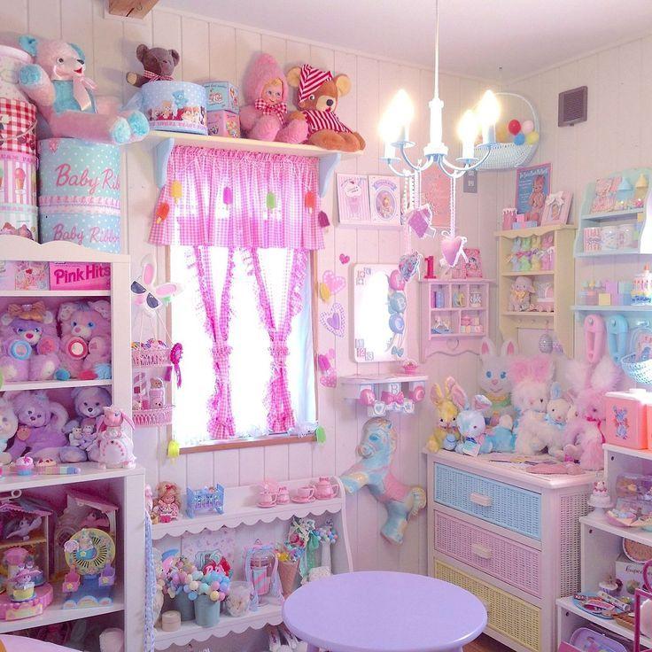 Kawaii Schlafzimmer, Pastell