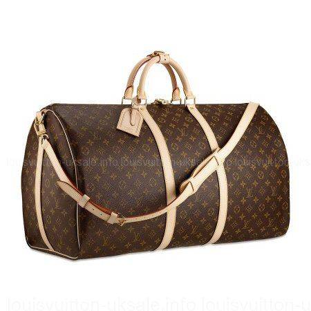 Louis Vuitton-Bag Keepall 60 Shoulder Strap M41412 Coffee  19d8e13e2eddf