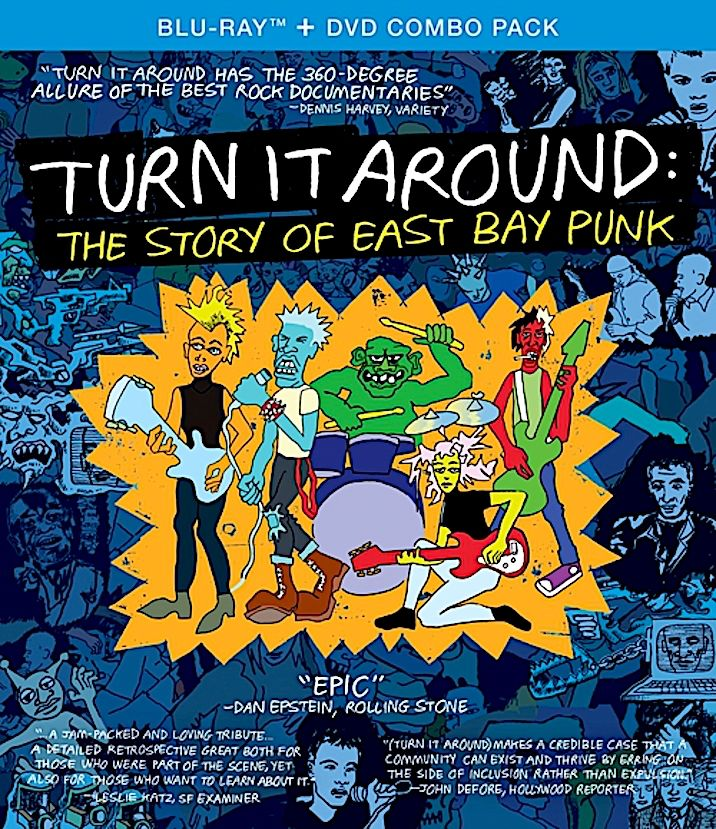 TURN IT AROUND THE STORY OF EAST BAY PUNK BLURAY (1234GO