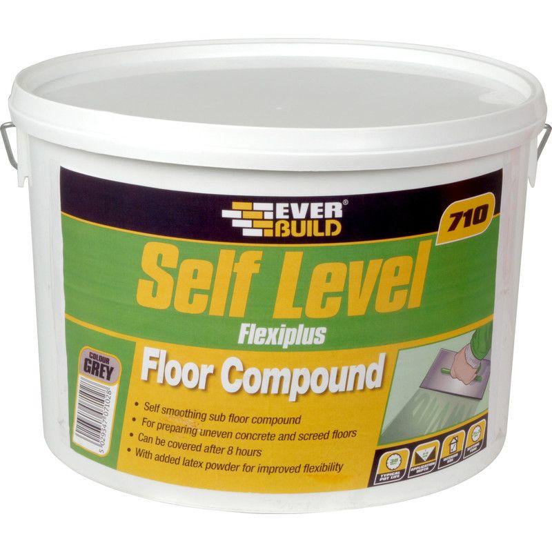 Everbuild 710 Self Levelling Floor Compound 10kg Flooring Self