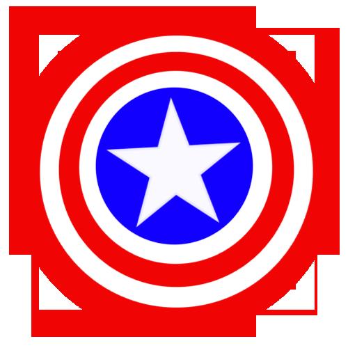 24++ Captain america logo clipart information