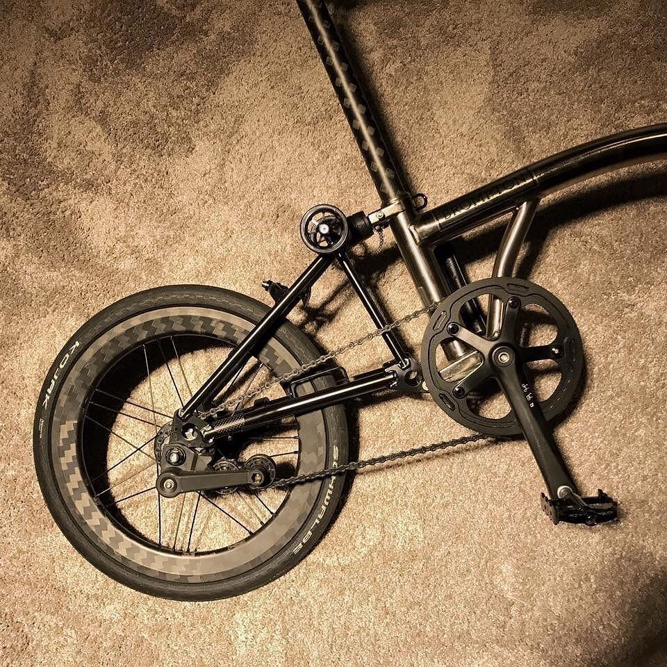 Bicycle Carbon Mudguard Stays Parts Set for Brompton