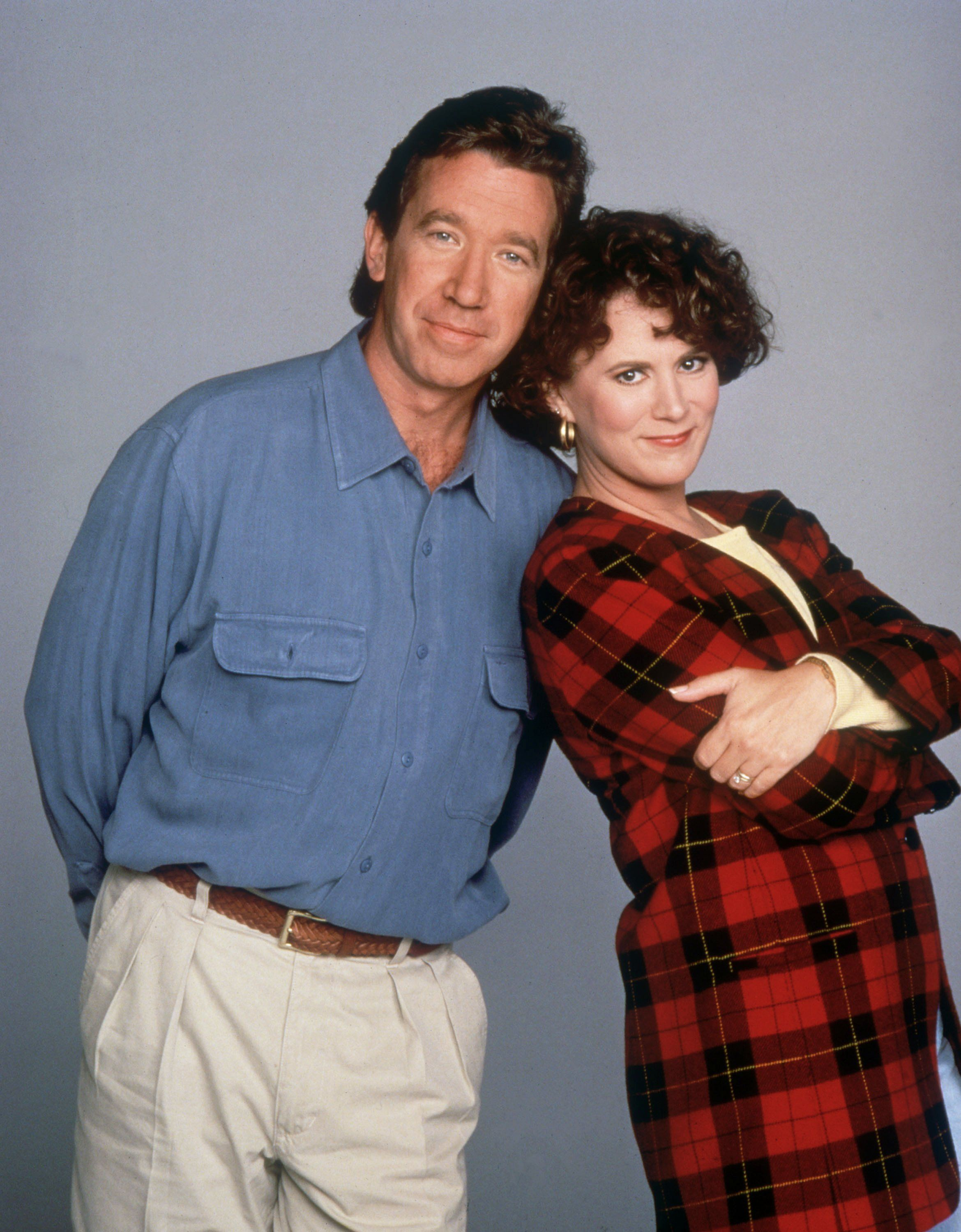 Patricia Richardson And Tim Allen From Home Improvment Home Improvement Tv Show Patricia Richardson Home Improvement