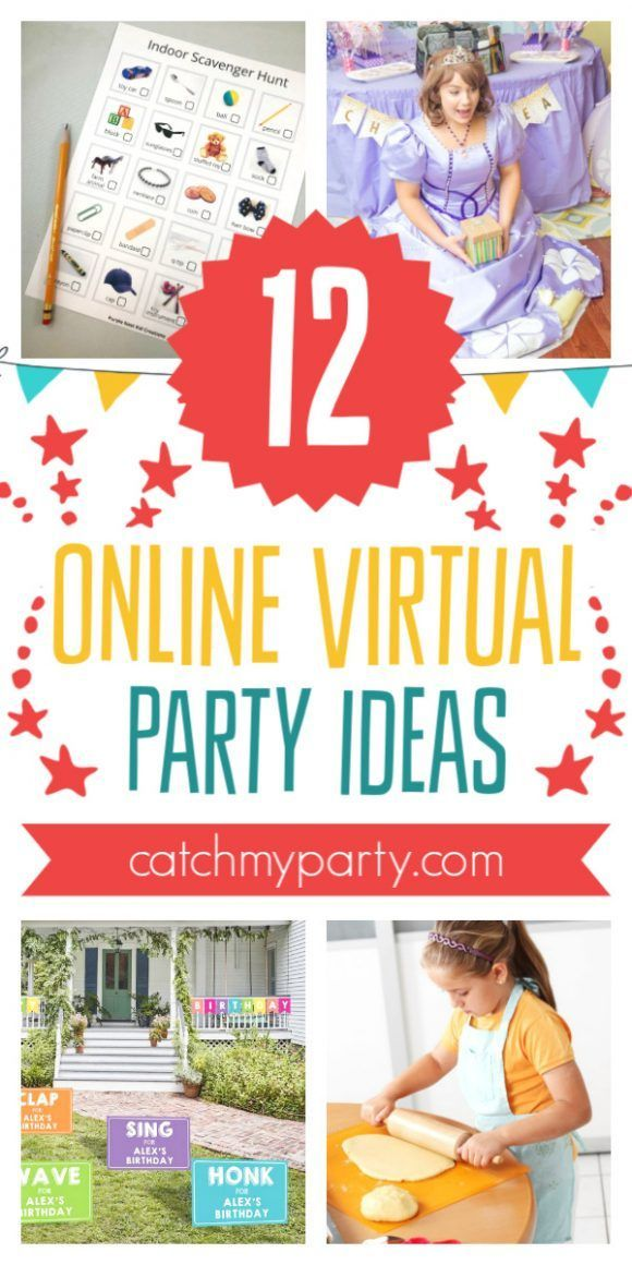 12 Cool Ideas for Throwing a Virtual Birthday Party Online