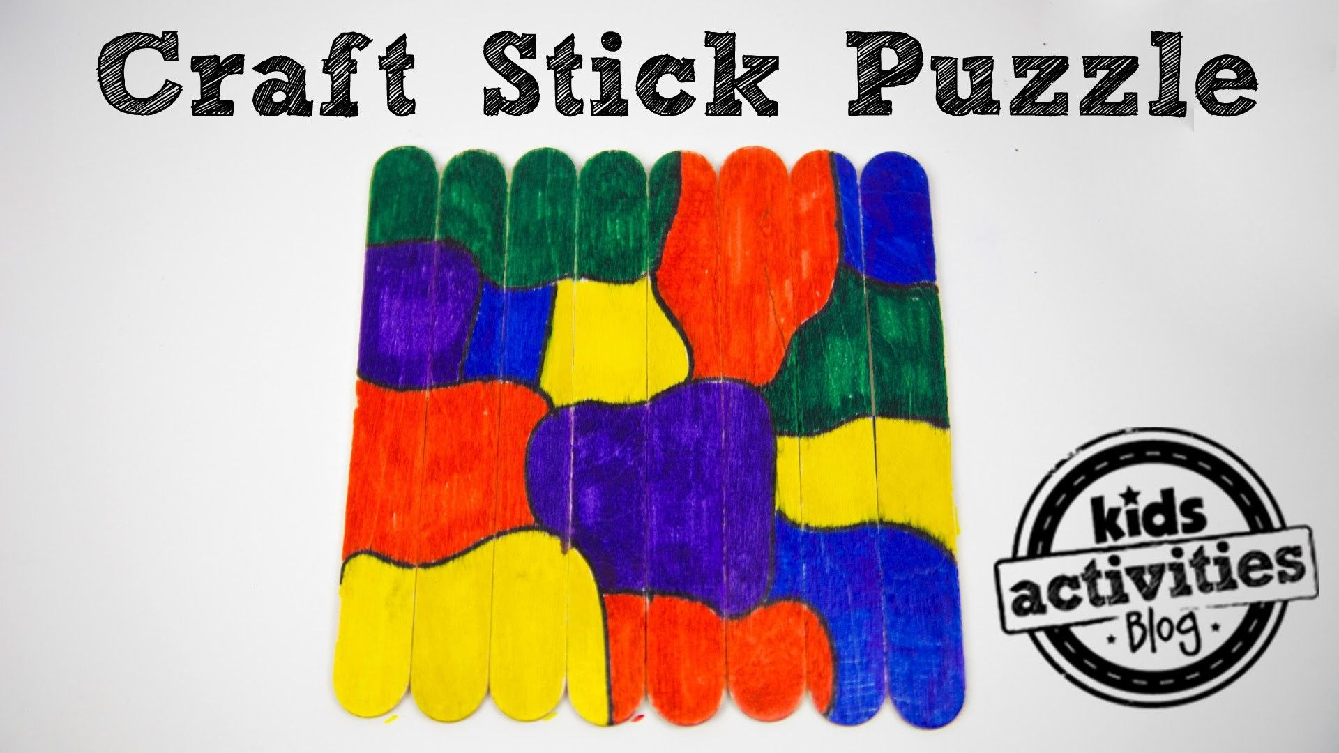 Craft Stick Puzzle