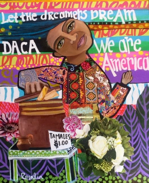 This is a beautiful portrayal of the Hispanic culture.  #dreamers #we are America  Check out my blog post were I reflect on the end of DACA:  http://box5106.temp.domains/~bitsosje/2017/09/11/post-reflection-on-the-end-of-daca-ft-a-letter-to-immigrants/