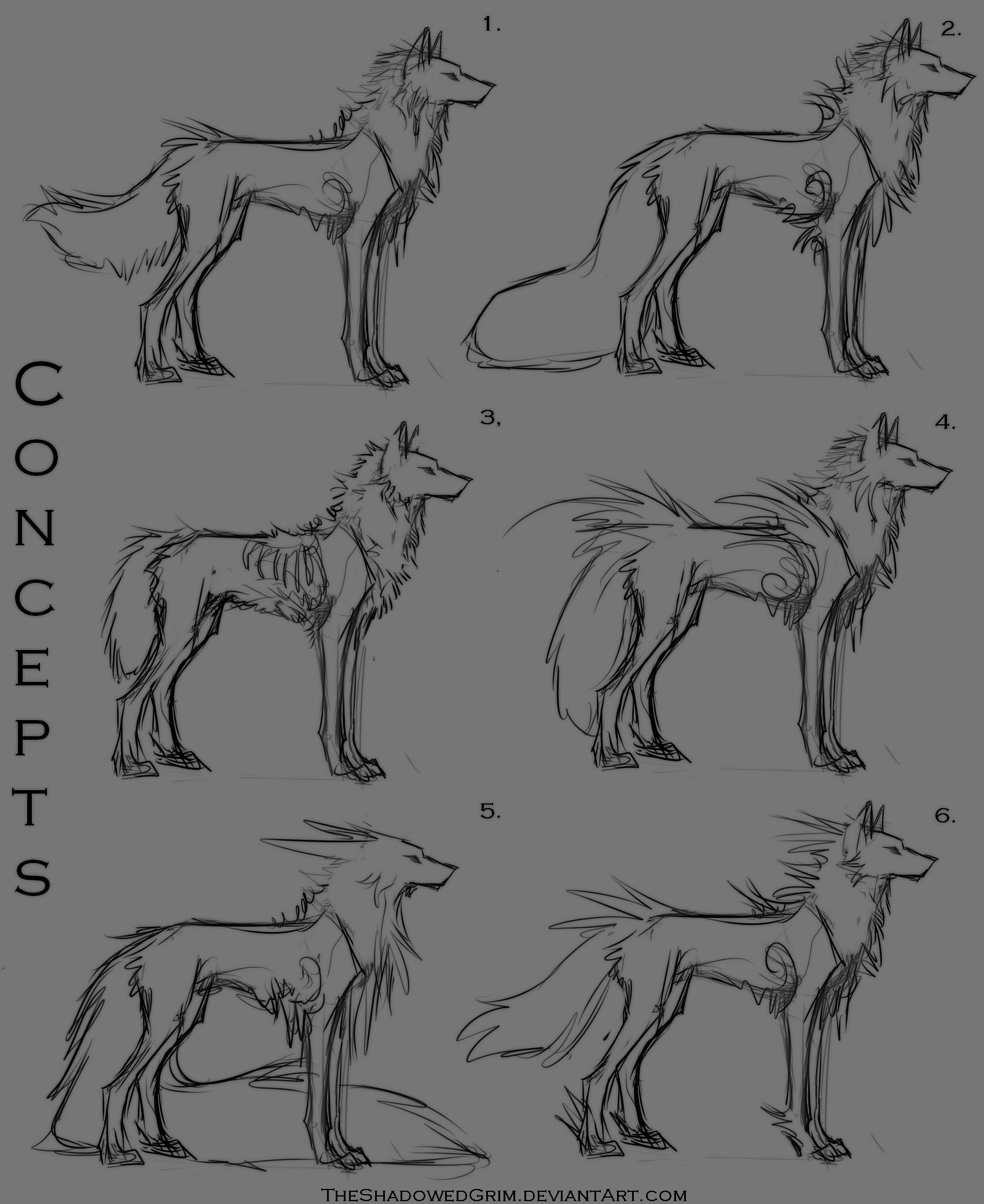 Character Concepts by TheShadowedGrim.deviantart.com on @DeviantArt