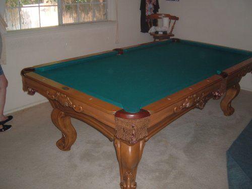 OLHAUSEN Brunswick 8 Ft. Pool Table Custom Ordered, Handmade 8 Foot