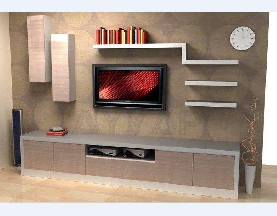 Modern yeni tv unite modelleri 7 - Modern Tv Unitesi Yasam Uniteleri Ayyapi Denizli