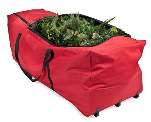 Christmas Tree Storage Bag With Wheels Enchanting Santas Bags Rolling Tree Storage Duffel For 6 To 9Foot Trees ** You
