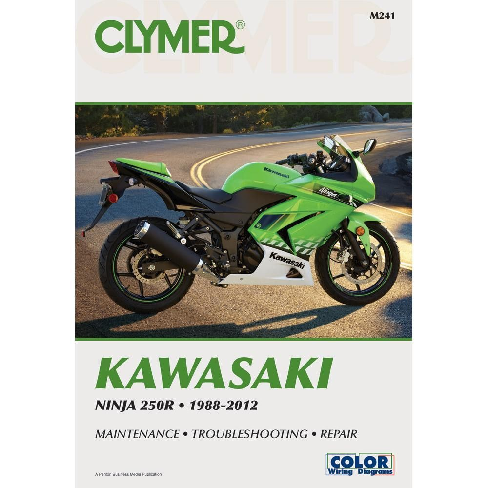 Clymer Kawasaki Ninja 250r 1988 2012