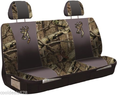 Browning Buckmark Logo Bench Seat Cover New Ebay Bench Seat Covers Truck Accessories Seat Covers