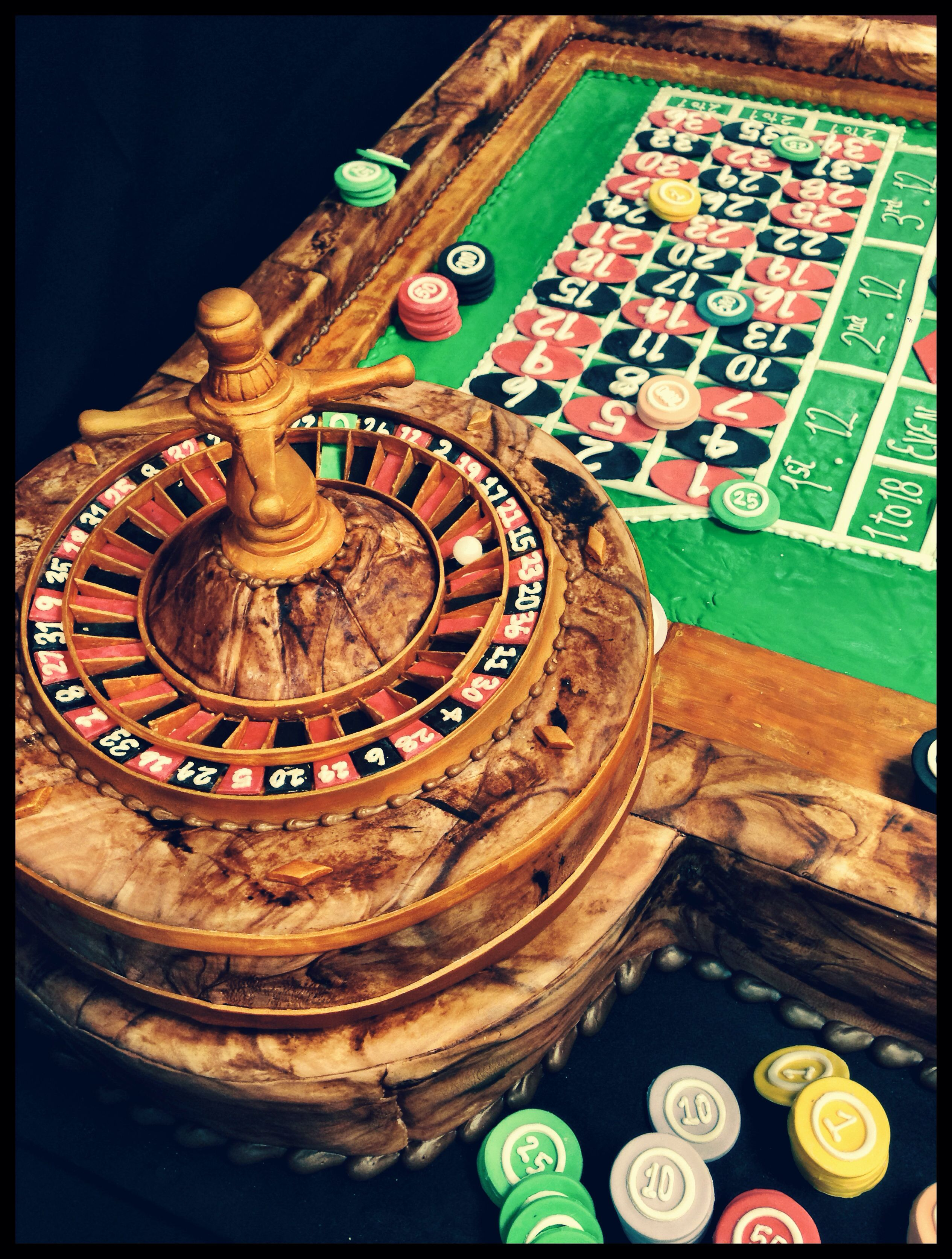 Wooden roulette buy black wooden roulette blackjack table led - Roulette Table Cake With Actual Spinning Wheel