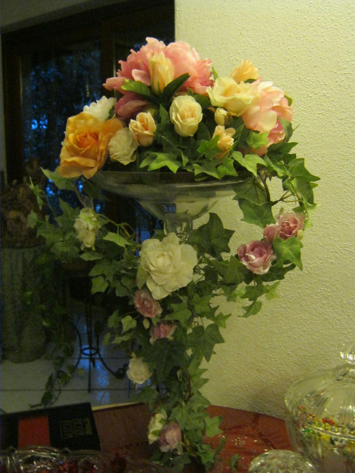 vaso con rose