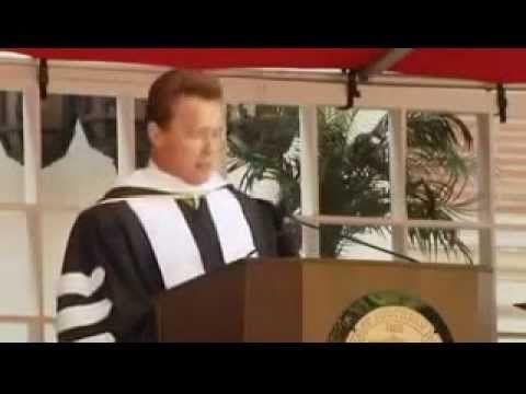 Arnold Schwarzenegger Success Commencement Speech Arnold