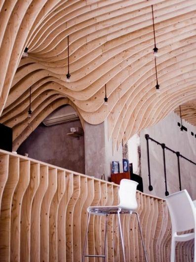 Zmianatematu By Xm3 Organic Interior Design Organic Interiors Cafe Interior Design