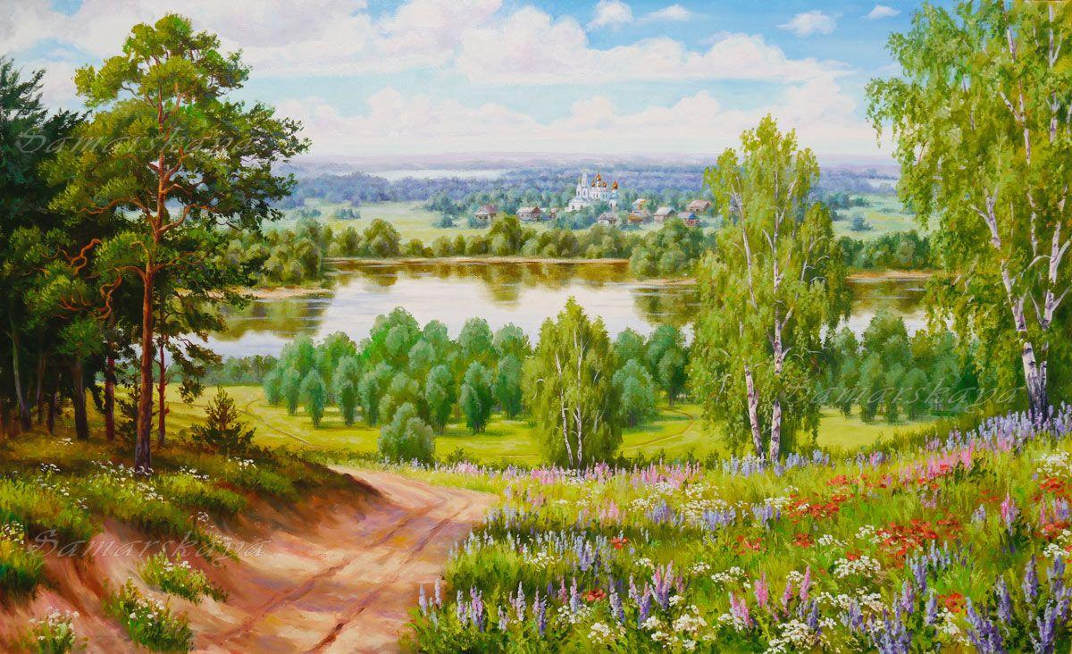 крем пейзажи средней полосы россии рисунки судей дорожит репутацией