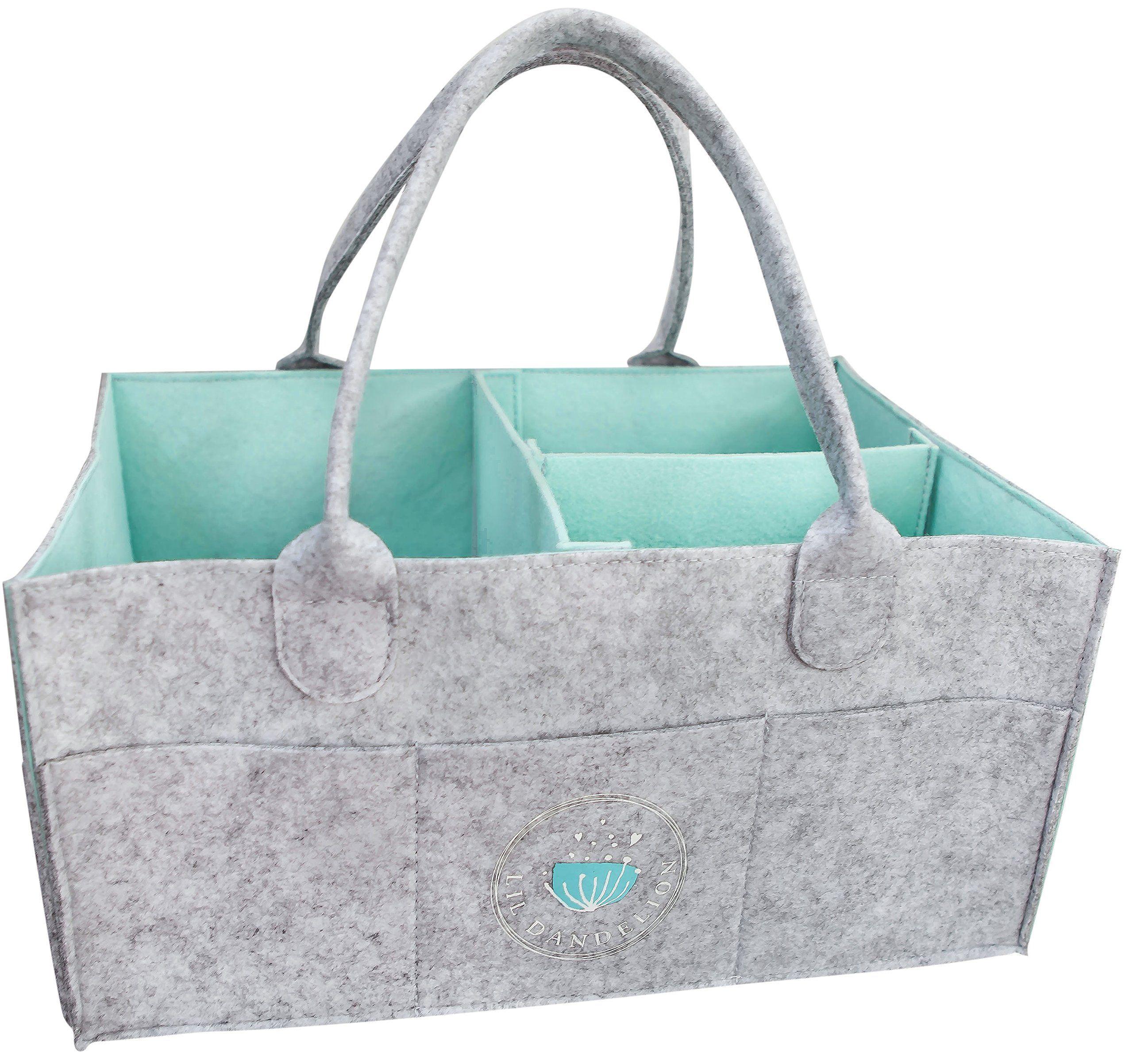 Portable Nursery Changing Car Organiser Bag Diaper Caddy Organiser Nappy Baby Travel Storage Box