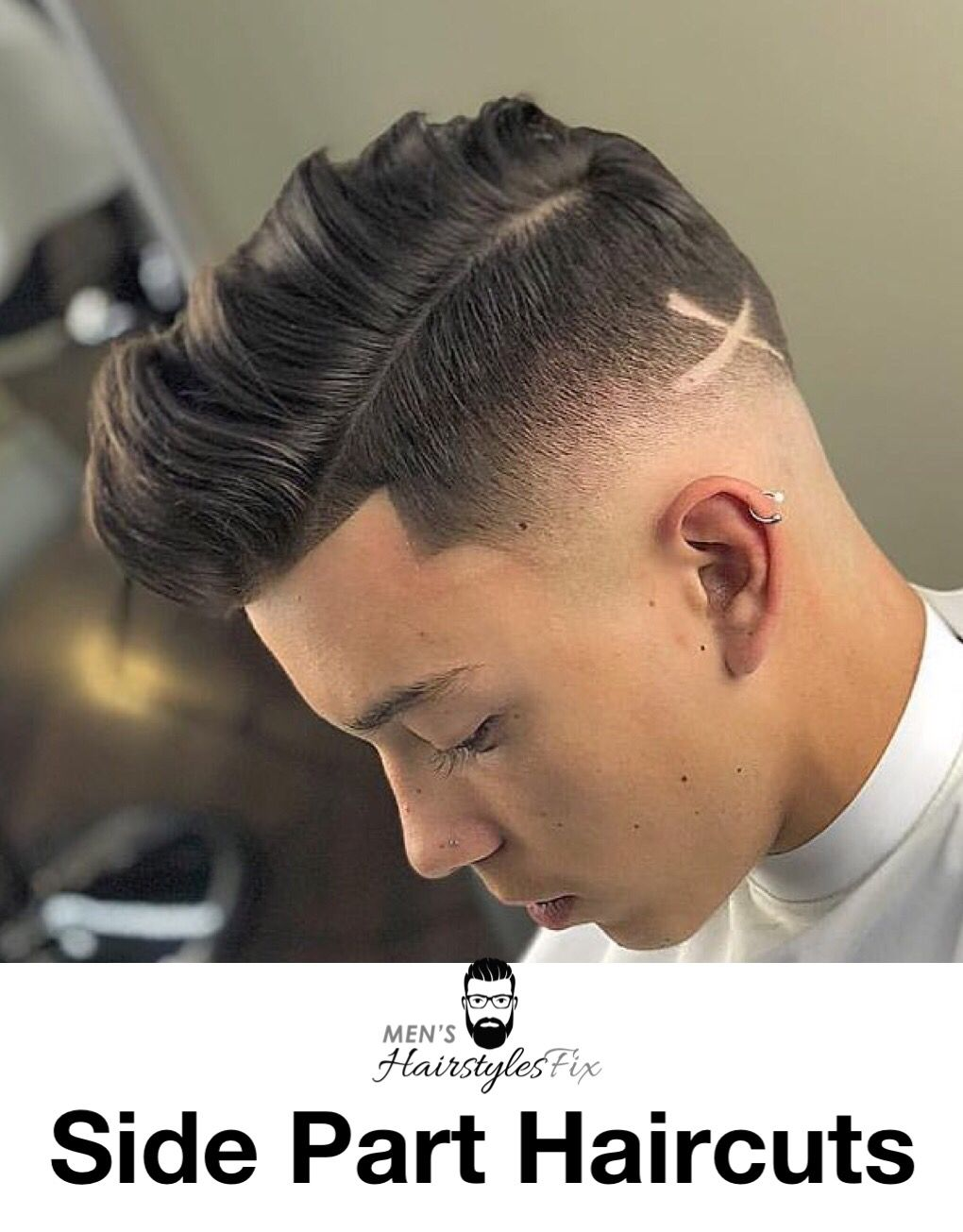 Men formal haircut how to get the perfect side parting  best side part haircuts