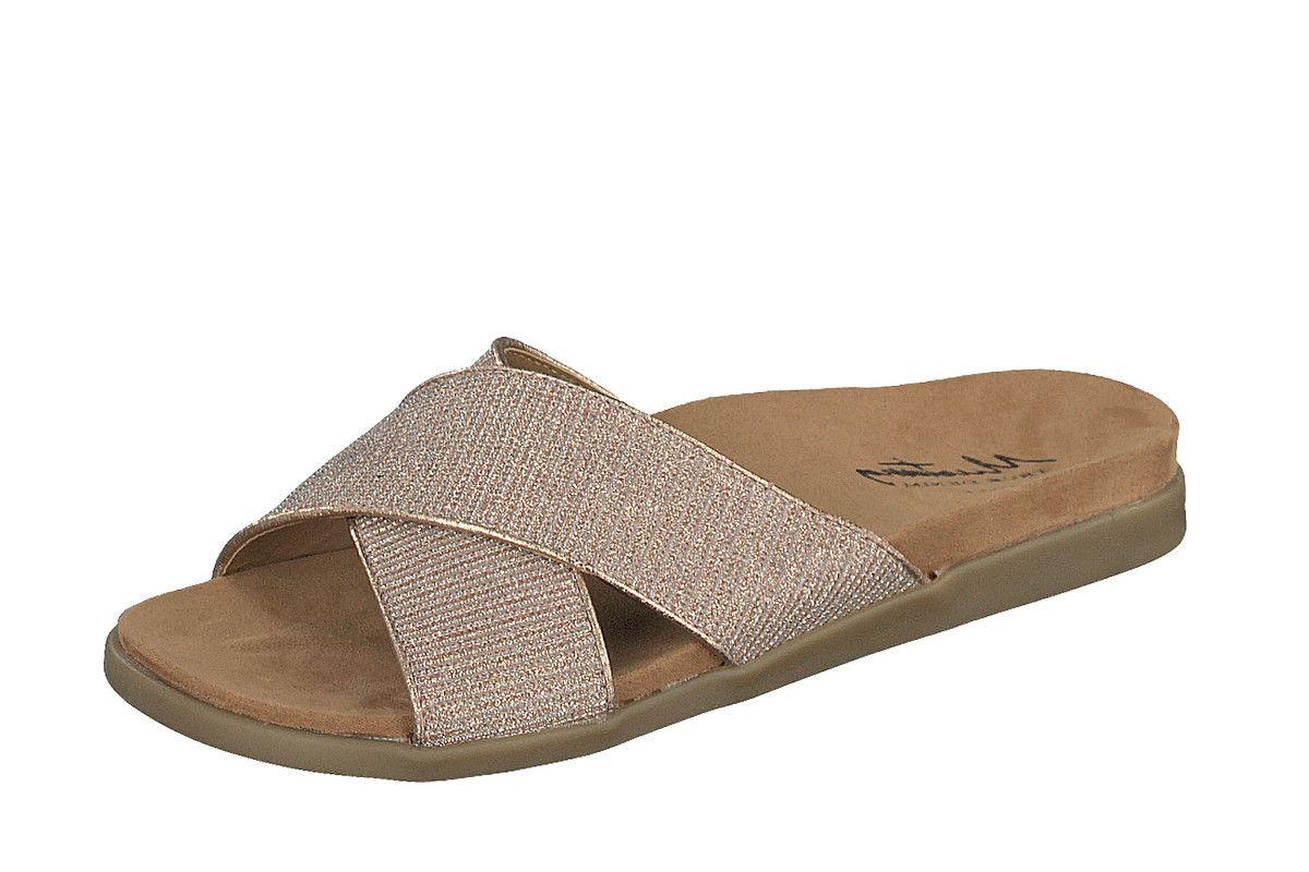 0322a5ad4 Skechers Vinyasa Sun Ray Black Sequin Women s Wedge Sandals
