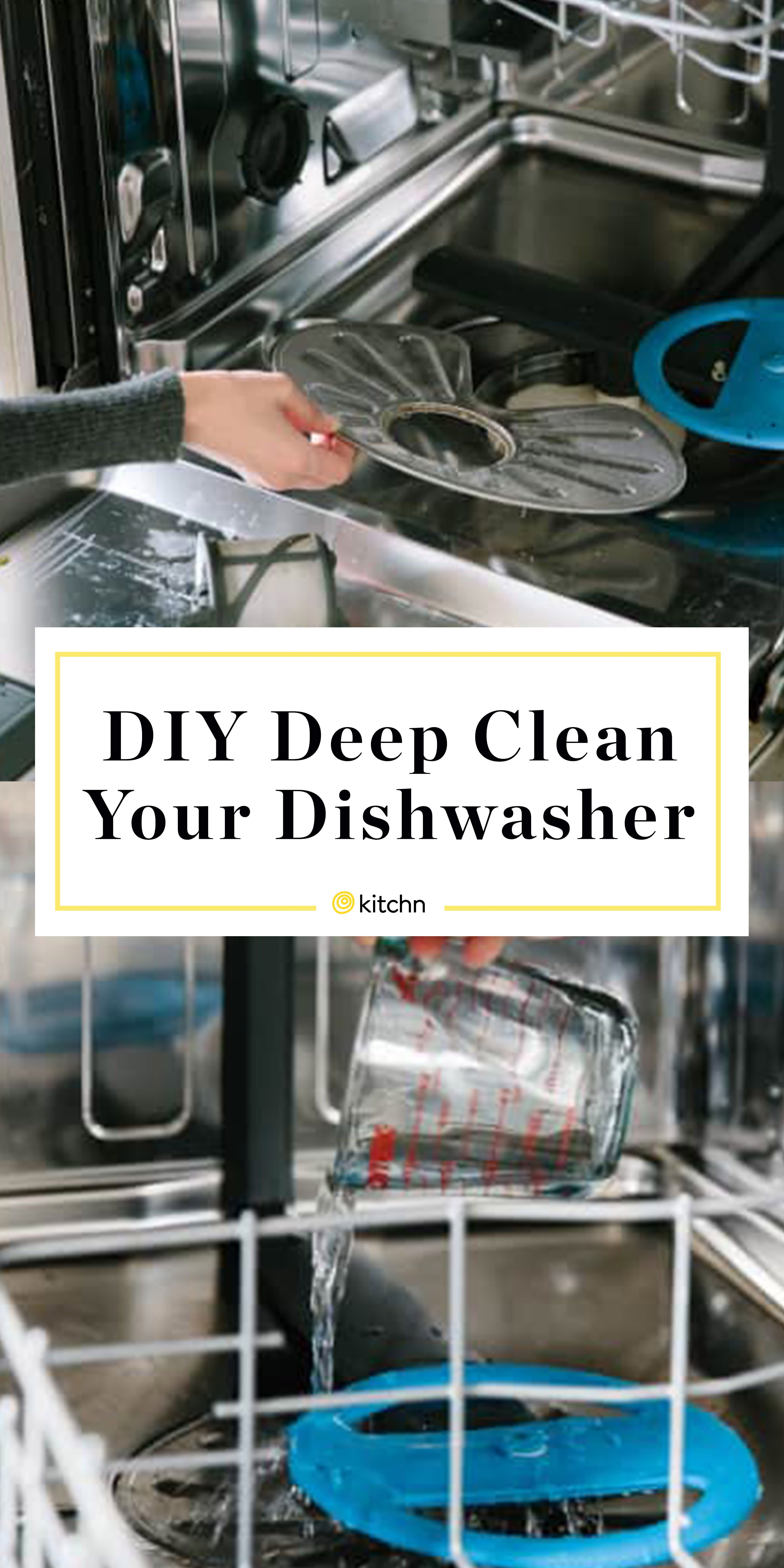 How To Clean A Dishwasher Clean Dishwasher Cleaning Your Dishwasher House Cleaning Tips