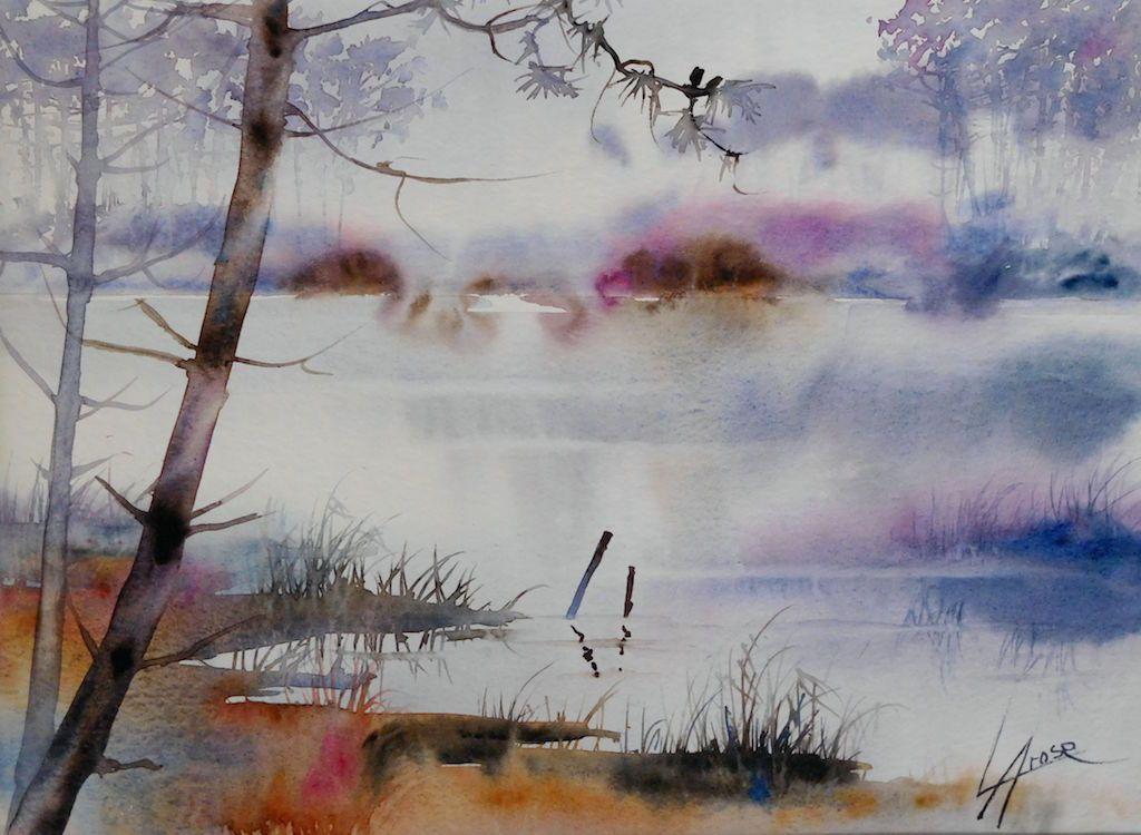 Galeries Virtuelles Aquarelles Et Acryliques Anne Larose Wc