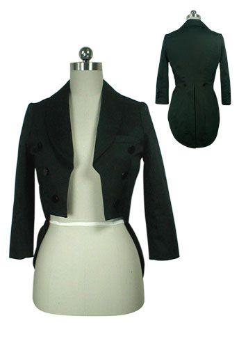 aaebd398c54 Vintage 80s Punk Tuxedo Jacket for Women CS-33178 by China Doll Gothic,  Vampire & Steampunk | Gothic Jewelry | Demonia
