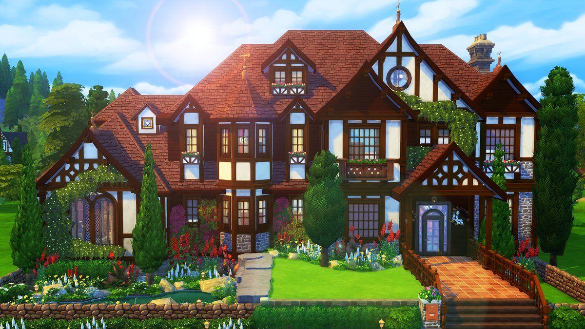 Aveline Avelinesims Twitter Sims House Sims Building Sims 4 House Design