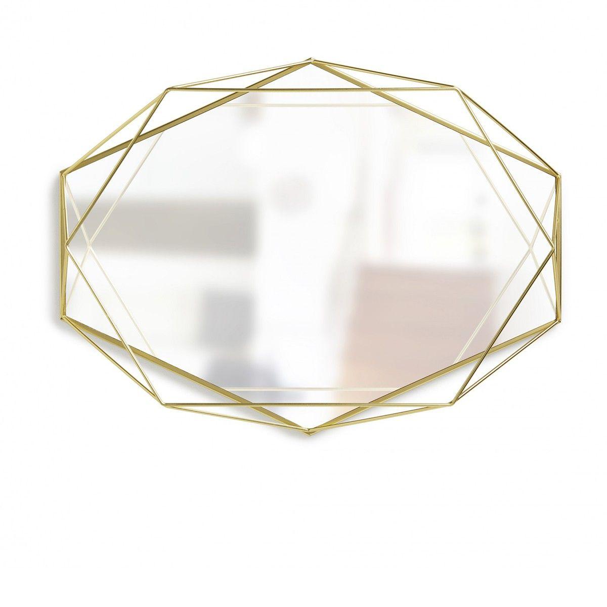 Miroir Prisma Laiton - Umbra