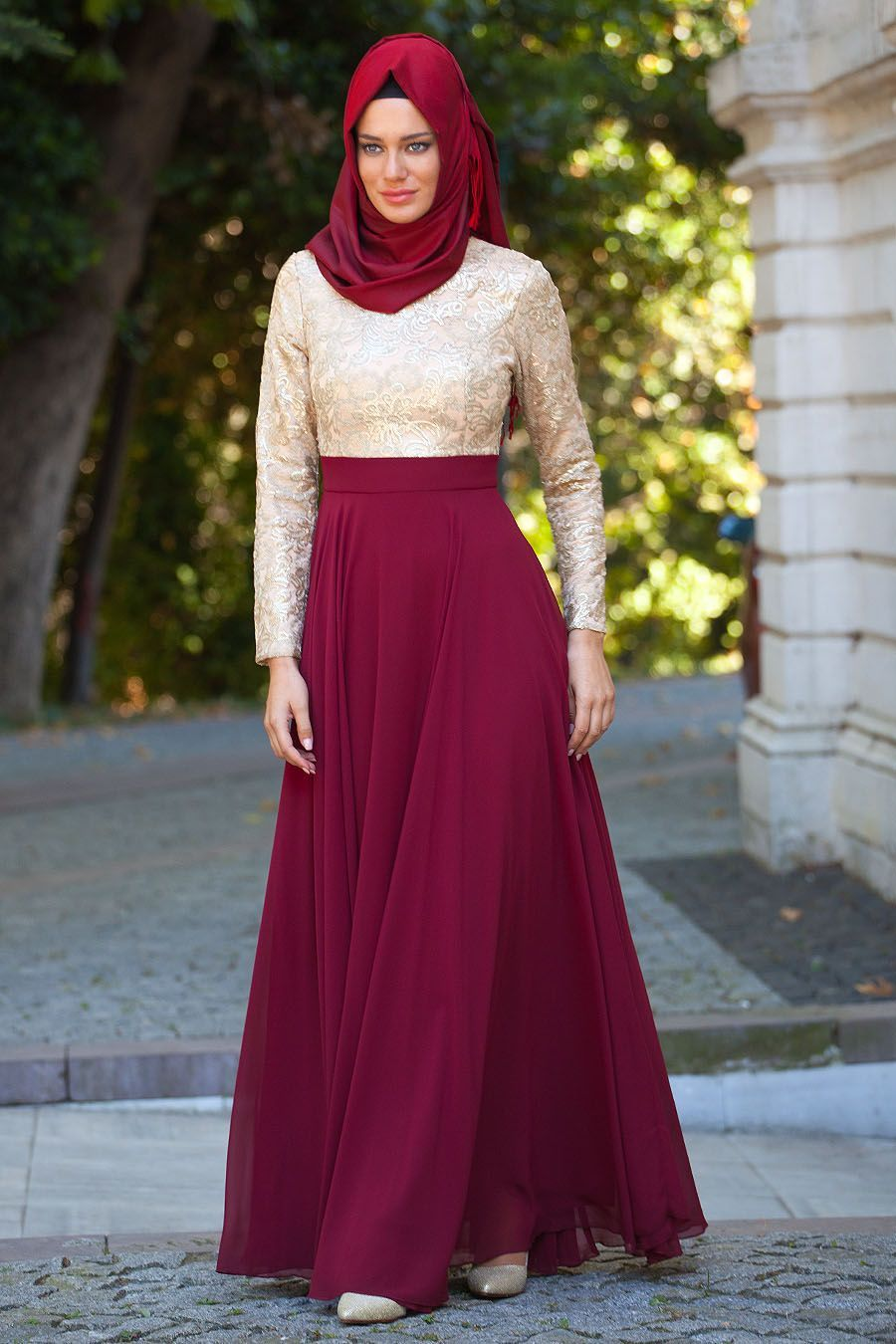 Tesetturlu Abiye Elbiseler Tesetturlu Abiye Elbise Tesettur Bayan Giyimde Elbise Ferace Esarp Sal Hasema V Evening Dress Collection Evening Dresses Dresses