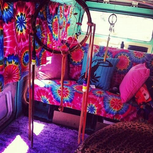 volkswagen van hippie interior. colors diseo volkswagen van hippie interior