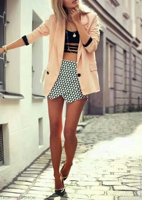 Envelope skirt