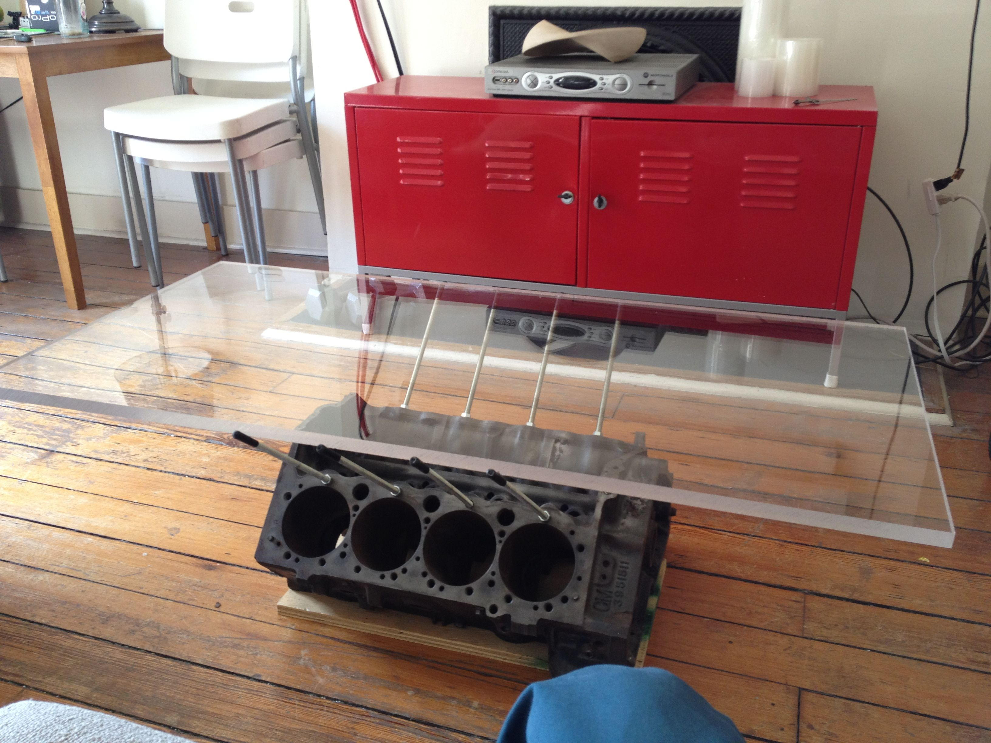Engine Block Coffee Table For the Home Pinterest