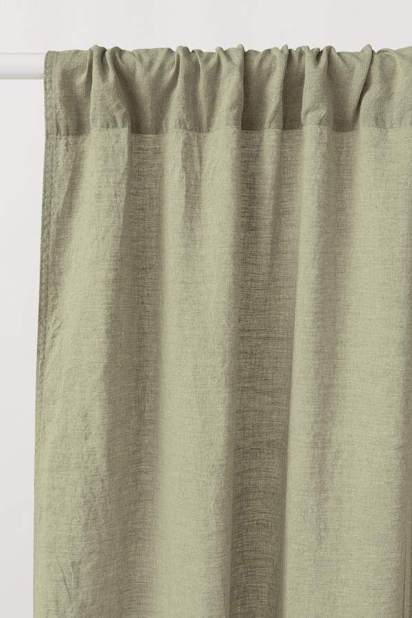 2 Pack Linen Curtain Panels Linen Curtains Panel Curtains Curtains