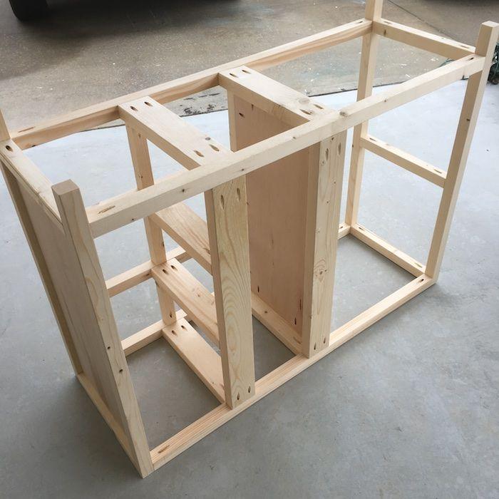superb How To Build A Buffet Table Plans Part - 6: DIY Emma Buffet Plans - Step 11