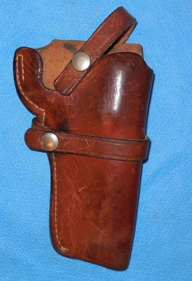 Smith & Wesson Holster 21 34 Brown Leather Used | Guns stuff